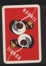 Advertising vintage collectable playing cards . Bovril,